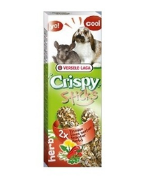 VERSELE-LAGA Crispy Stick Rabbits-Chinchillas Herbs 70 g - gustare cu ierburi