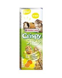 VERSELE-LAGA Crispy Stick Guinea Pigs-Chinchillas Citrus Fruit 70 g - gustare