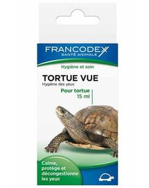 FRANCODEX Lichid pentru curățarea ochilor broaște țestoase 15 ml