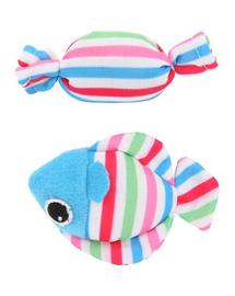 """ZOLUX Jucărie Candy Toys """"Fish & Candy"""" cu iarba-mâței albastru"""