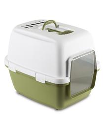 STEFANPLAST Litieră acoperită Cathy Comfort cu filtru - verde