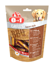 8IN1 Delicatese Grills Bacon Style 80 g