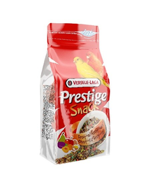 VERSELE LAGA Prestige Snack Canaries 125 g Gustare cu biscuiți și fructe pentru canari