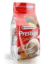 VERSELE LAGA Prestige Snack Finches 125 g Gustare cu fructe și insecte pentru păsări tropicale
