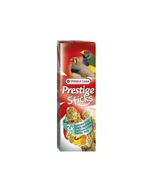 VERSELE LAGA Prestige Sticks Finches Exotic Fruit 60 g Gustare cu fructe exotice pentru păsări tropicale