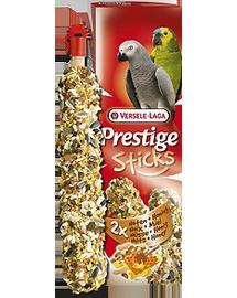 VERSELE LAGA Prestige Sticks Parrots Nuts&Honey 140 g Gustare cu nuci și miere pentru papagali