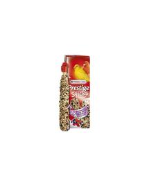 VERSELE LAGA Prestige Sticks Canaries Forest Fruit 30 g Gustare cu fructe de pădure pentru canari