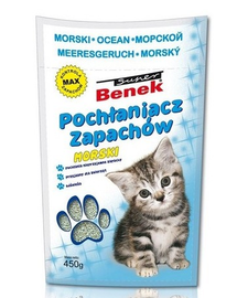 Benek Dezinfectant / absorbant mirosuri marin 450 g