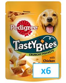 PEDIGREE Tasty Bites Crunchy Pockets 6x 95 g