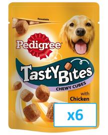 PEDIGREE Tasty Bites Chewy Cubes 6x 130 gr