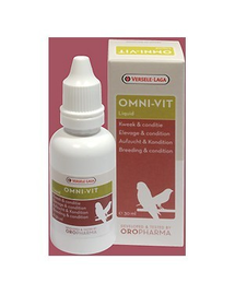 VERSELE-LAGA Omni-Vit Liquid - Preparat cu vitamine pentru păsări 30ml