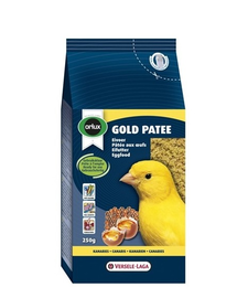 VERSELE-LAGA Gold Patee Canaries Yellow 250 g - mâncare cu ou pentru canari galbeni