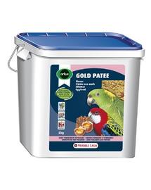 VERSELE-LAGA Gold Patee Large Parakeets And Parrots 5 kg - mâncare cu ou pentru papagali mari și medii