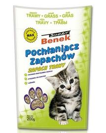 Benek Dezinfectant / absorbant mirosuri iarbă 200 g