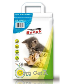 BENEK Super corn cat briza mării 7 L