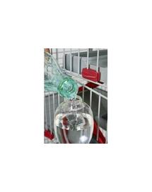 ZOLUX Adăpător pentru rozătoare cu umplere de sus 500 ml culoare roșu
