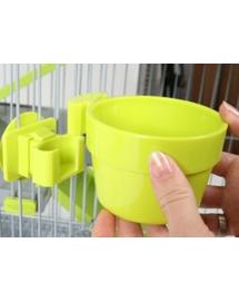 ZOLUX Bol plastic suspendat dia. 12 cm culoare aquamarin