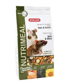 ZOLUX Amestec Nutri'Meal pentru șoareci/șobolani 800 g