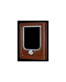 ZOLUX Ușițe pentru pisici pentru ușă de lemn - maro