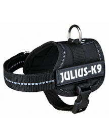 TRIXIE Ham Julius-K9 harness M - L 58–76 cm negru