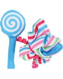 """ZOLUX Jucărie pentru pisici Candy Toys """"Flori și bomboane"""" cu iarba-mâței culoare albastru"""