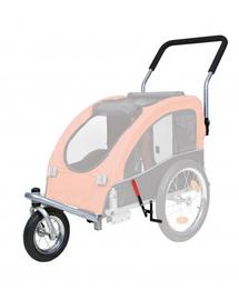 TRIXIE Set cărucior acoperit cu roți pentru jogging sau bicicletă 12814