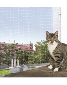 TRIXIE Plasă pentru pisici 75 x 2 M transparentă