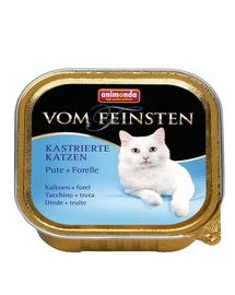 ANIMONDA Hrană umedă pentru pisici sterilizate curcan păstrăv 100 g