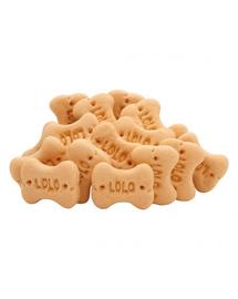 LOLO PETS Cookies pentru câini oase S banane 3kg
