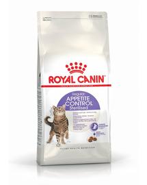 Royal Canin Sterilised Apetite Control Adult hrana uscata pisica sterilizata pentru reglarea apetitului, 400 g