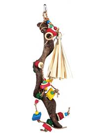 TRIXIE Jucărie de lemn cu bile de răchită 56 cm