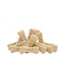 LOLO PETS Cookies pentru câini oase M vanilie 210 g