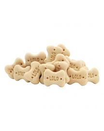 LOLO PETS Cookies pentru câini oase S vanilie 3kg