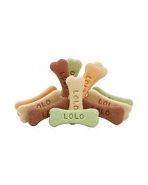 LOLO PETS Cookies pentru câini oase L mix 3 kg