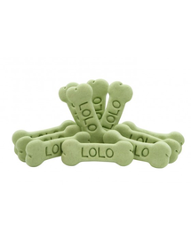 LOLO PETS Cookies pentru câini oase L legume 3 kg