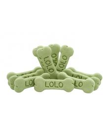 LOLO PETS Cookies pentru câini oase M legume 3kg