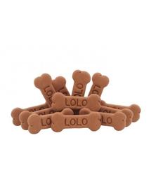 LOLO PETS Cookies pentru câini oase L ciocolată 3 kg