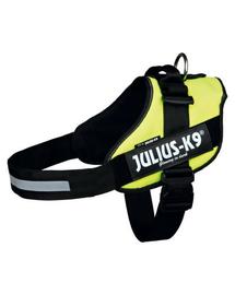 TRIXIE Ham Julius-K9 IDC , Mini/M: 49–67 cm, galben neon
