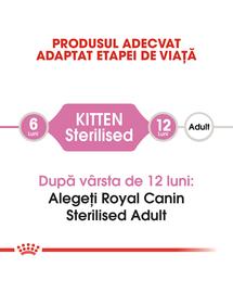 Royal Canin Kitten Sterilised Hrană Uscată Pisică 400 g