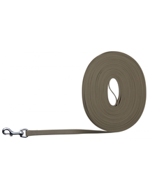 TRIXIE Easy Life Tracking Leash, 15 M/17 mm, Taupe