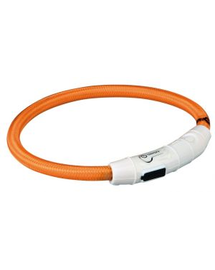 TRIXIE Inel cu beculețe USB XS-S 35 cm/o 7 mm, porocaliu