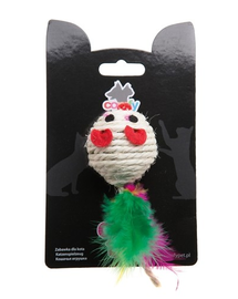COMFY Jucărie Gaia șoricel cu bilă 5cm