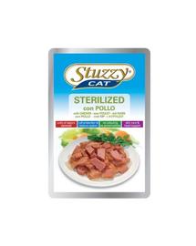 STUZZY Sterilized cu pui pentru pisici sterilizate 100 g