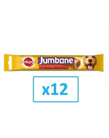 PEDIGREE Jumbone Medium recompensă talie medie 200 g x12