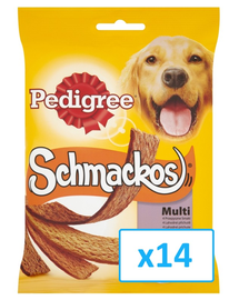 PEDIGREE Schmackos multi 172 g x14