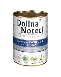 DOLINA NOTECI Premium bogat în cod cu broccoli 500 g