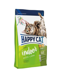 HAPPY CAT Fit & Well Indoor Adult miel 1,4 kg