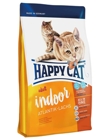 HAPPY CAT Fit & Well Indoor Adult somon 300 g