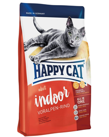 HAPPY CAT Fit & Well Indoor Adult vită 4 kg