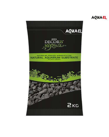 AQUAEL Pietriș Bazaltic 2-4 mm 2 kg